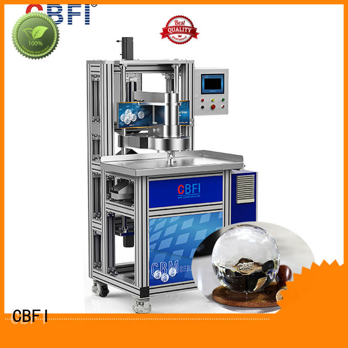 CBFI highend ice making machine manufacturers at discount for cooling