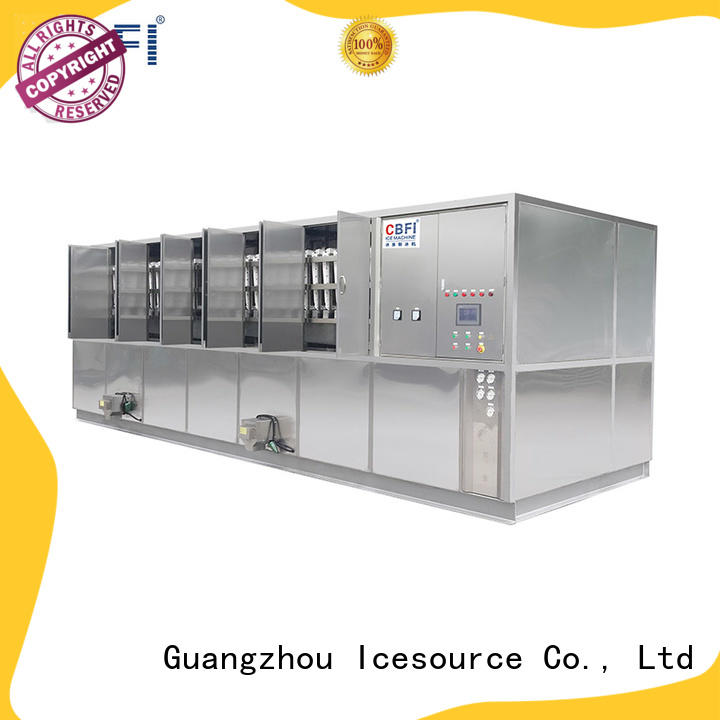 CBFI long-term used ice cube maker machine factory for vegetable storage
