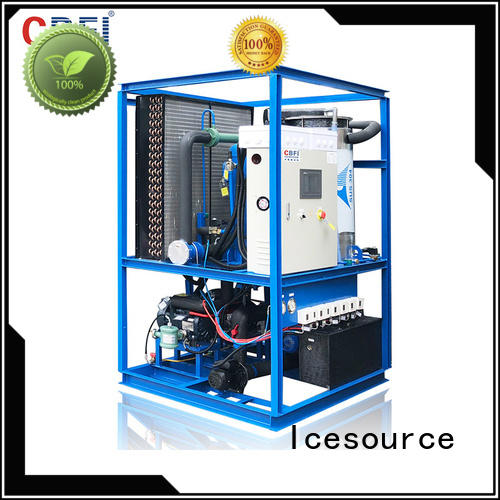 CBFI mechanical ice tube machine manufacturer for aquatic products preservation