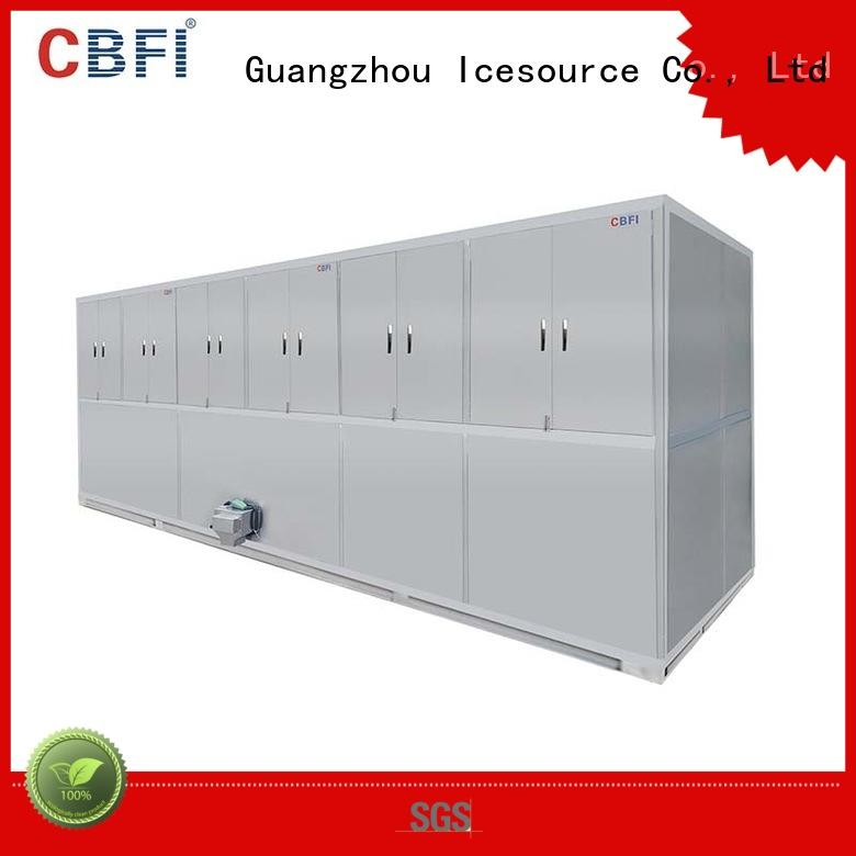 CBFI long-term used industrial ice cube machine factory for fruit storage