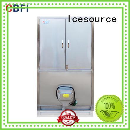 CBFI control large ice cube machine manufacturer for freezing