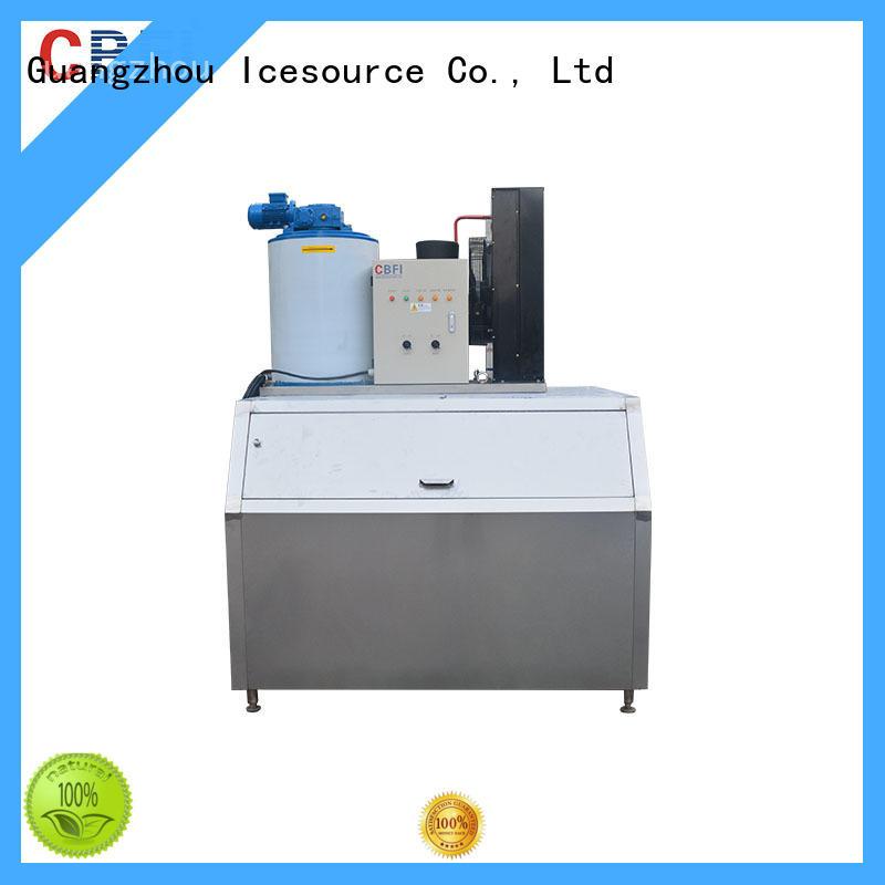 CBFI nice flake ice making machine certifications for water pretreatment