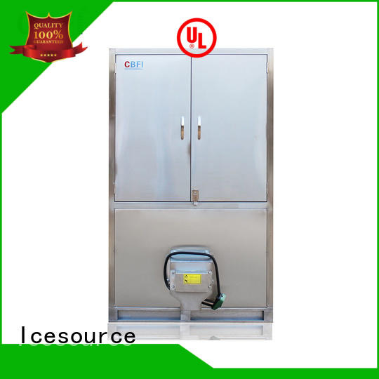 reliable industrial ice cube making machine capacity newly for fruit storage