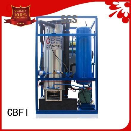 CBFI pellet ice maker free design for aquatic goods