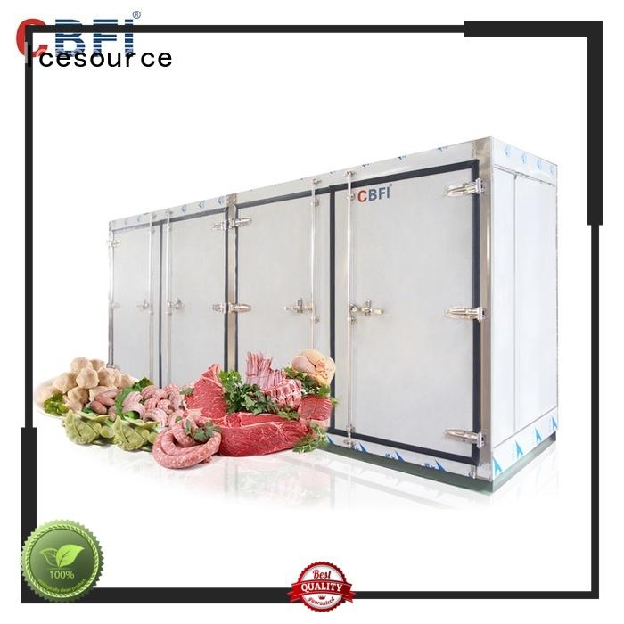 CBFI room freezer food