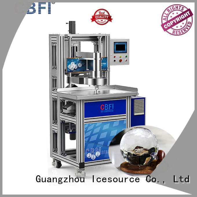 high technique ball ice machine cbfi order now for ice bar