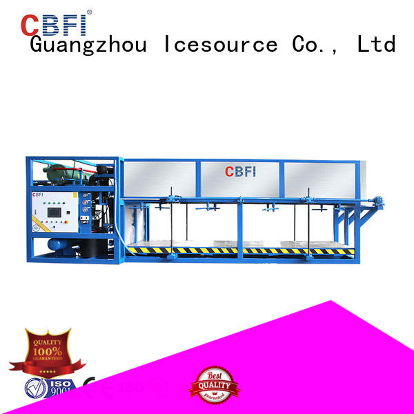 large capacity block ice machine maker abi from china for fruit storage