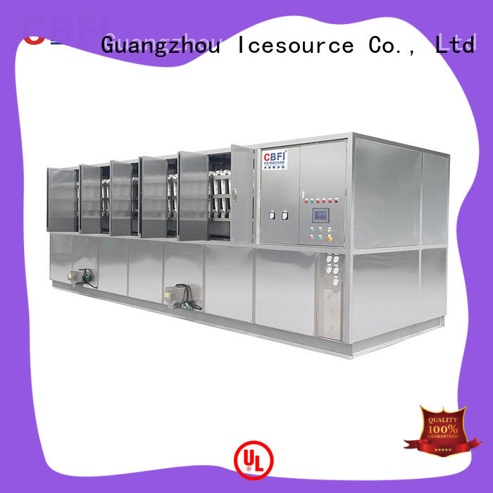CBFI reliable ice cube maker machine factory price for freezing