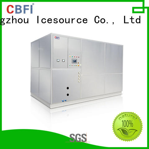 CBFI durable plate ice machine factory price for cooling