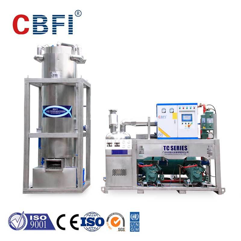 CBFI nugget ice machine bulk production for restaurant-1