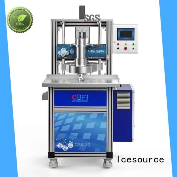 CBFI cbm ice sphere maker plant for ice bar