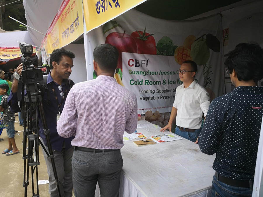CBFI-Guangzhou Icesource Joined Vegetable And Fruit Planting Exhibition-2