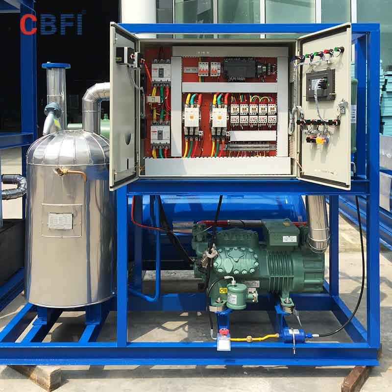 CBFI-CBFI TV100 10 Tons Per Day Tube Ice Machine For Hotels-1
