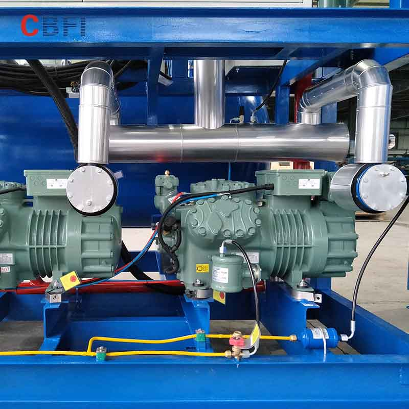 CBFI-tube ice machine manufacturers philippines | Freon System Tube Ice Machine | CBFI