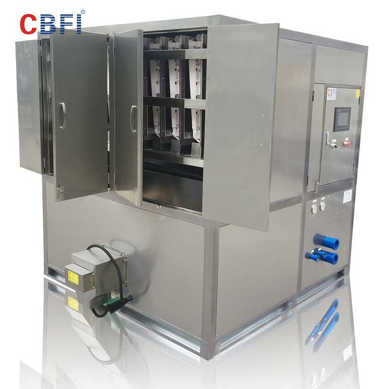 CBFI-Large Cube Ice Maker | Cbfi Cv10000 10 Tons Per Day Cube Ice Maker With-6