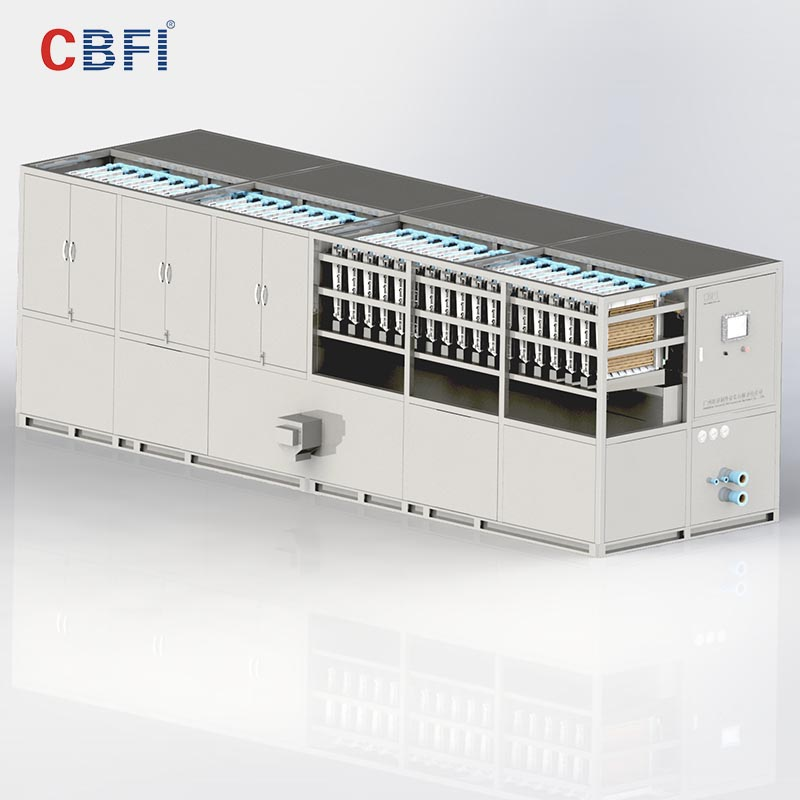 CBFI-Best Ice Cube Maker Machine Philippines Cbfi Cv10000 10 Tons Per Day Cube-2