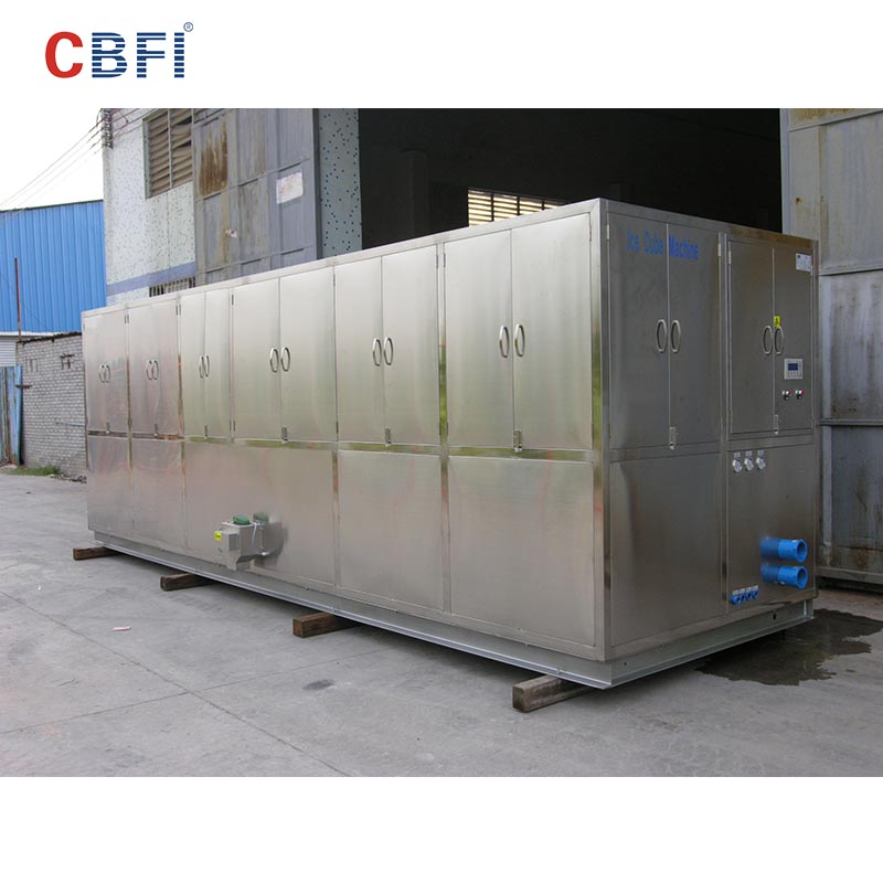 CBFI-Best Ice Cube Maker Machine Philippines Cbfi Cv10000 10 Tons Per Day Cube-1