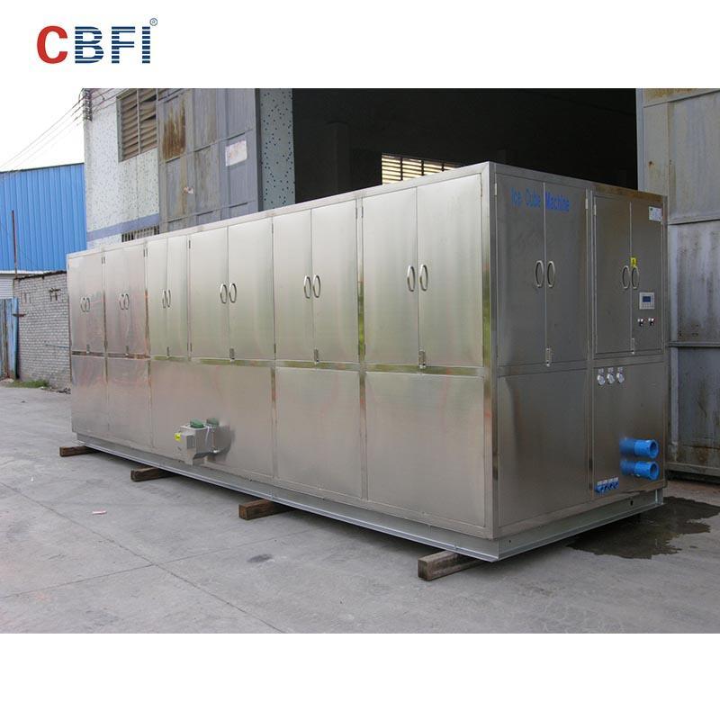 CBFI CV10000 10 тонн в день кубического льда с контроллером PLC