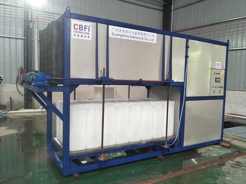 CBFI-Commercial Block Ice Maker Cbfi Abi50 5 Tons Per Day Direct Cooling Block-7