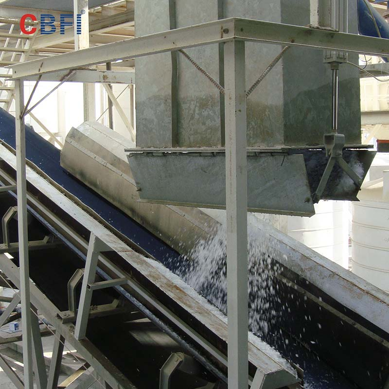 CBFI-CBFI BF20000 20 Tons Per Day Flake Ice Machine For Concrete Cooling