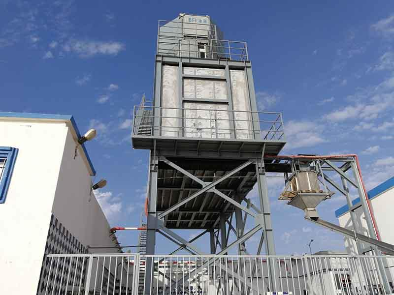 50 Tons Per Day Automatic Flake Ice Plant, Morocco