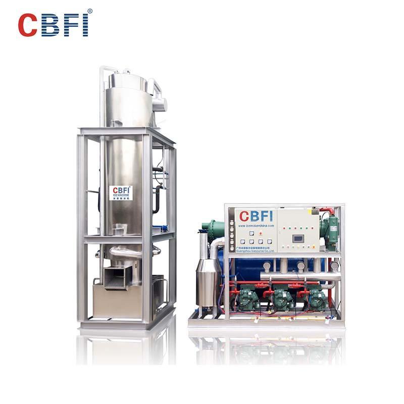 CBFI TV300 30 Tons Per Day Tube Ice Making Machine Plant