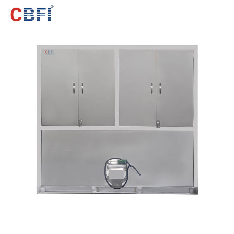 CBFI CV3000 3 Tons Per Day Cube Ice Making Machine For Hotels