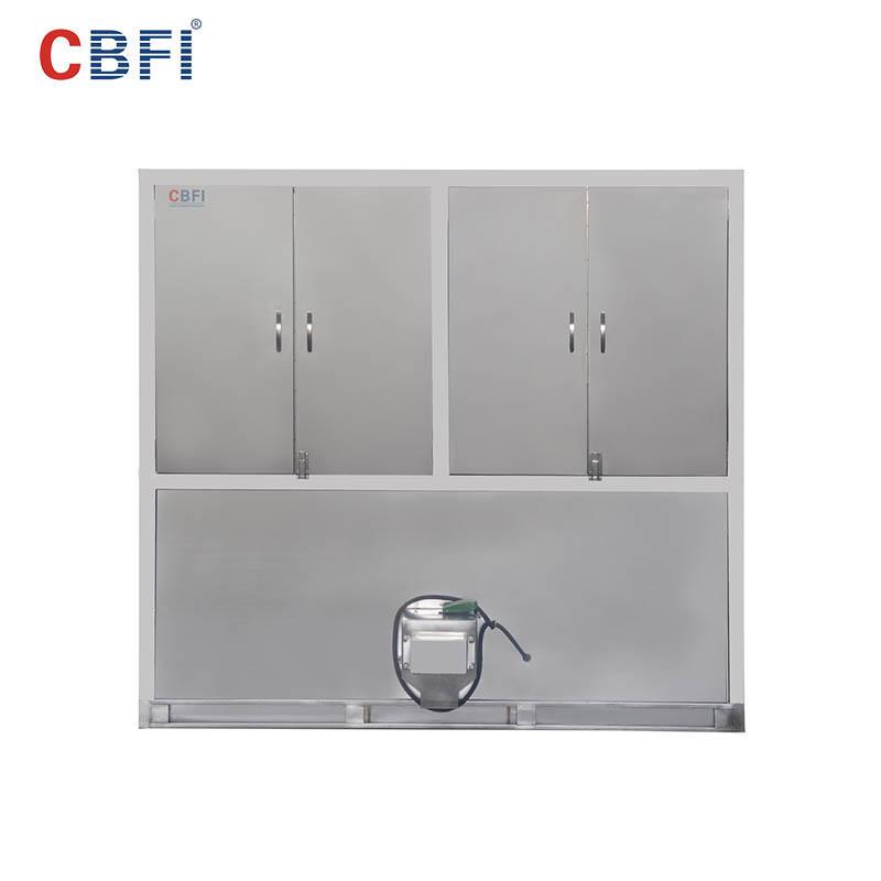 CBFI CV3000 3 toneladas por día máquina de fabricación de hielo en cubos para hoteles