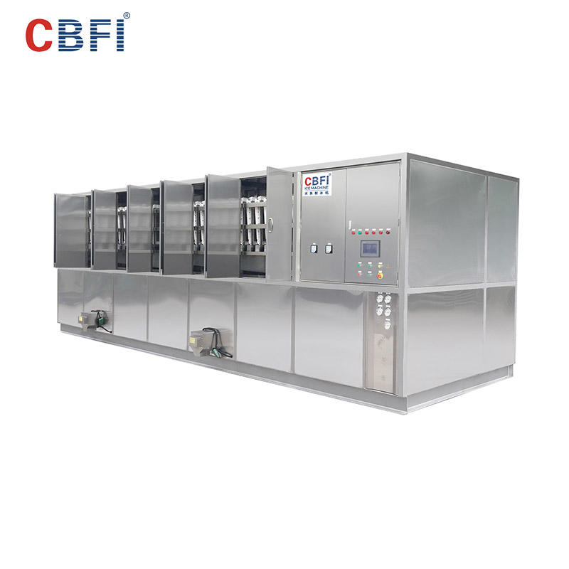 CBFI CV20000 20 toneladas por día Planta de fabricación de cubitos de hielo