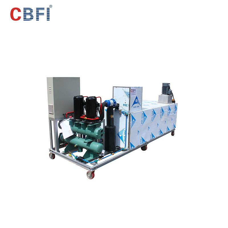 CBFI-CBFI BBI10 1 Ton Per Day Block Ice Maker For Aquatic Goods