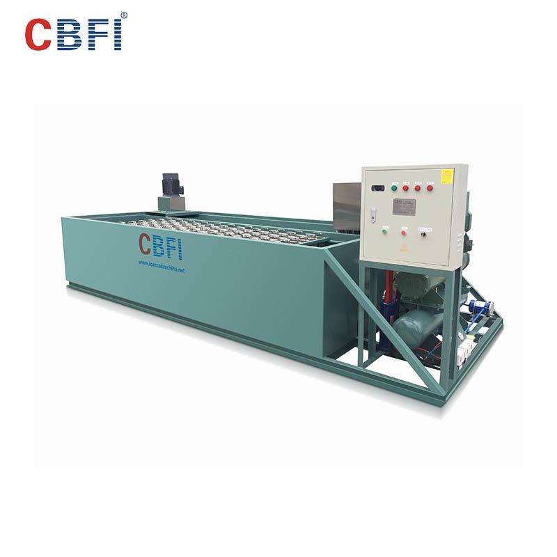 CBFI BBI30 3 طن في اليوم آلة صنع قوالب الثلج مع PLC