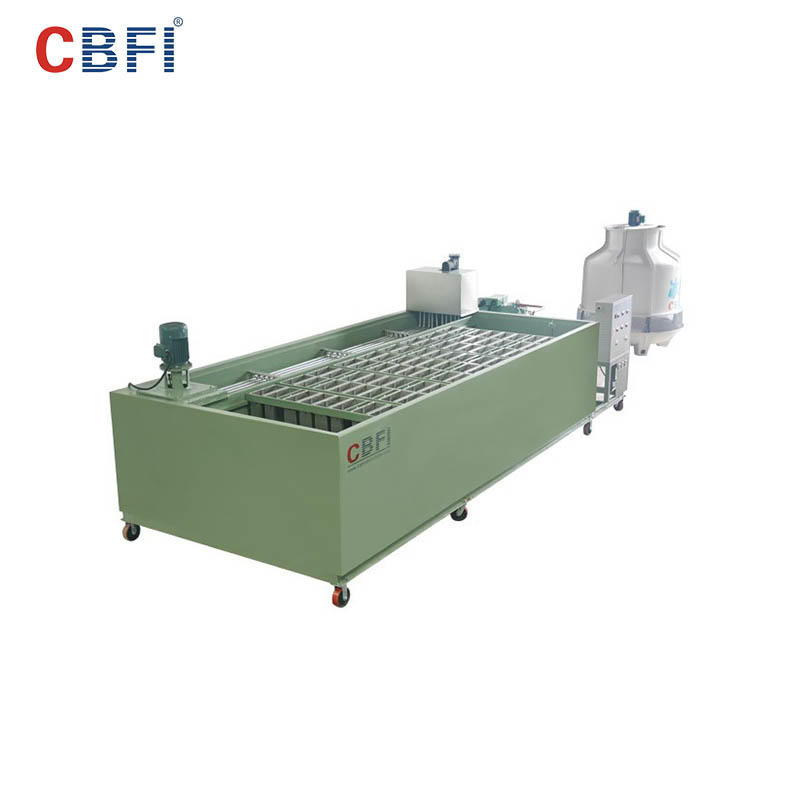 CBFI BBI50 5 Tons Per Day Block Ice Machine Machine Used R404A
