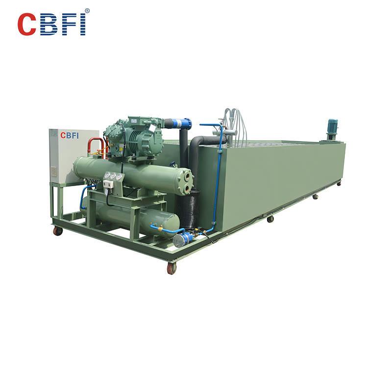 CBFI BBI100 10吨/天盘管冰块机