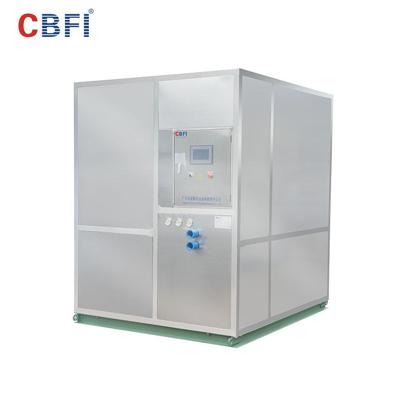 CBFI HYF50 5 Tons Per Day Plate Ice Machine For Fish Market
