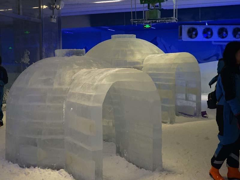 Guangdong 6000m³ Indoor Ice & Snow Amusement Park Project