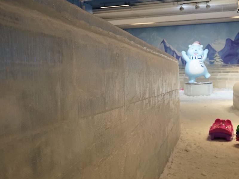 Проект крытого парка развлечений из льда и снега 6000 м³ в Гуандуне