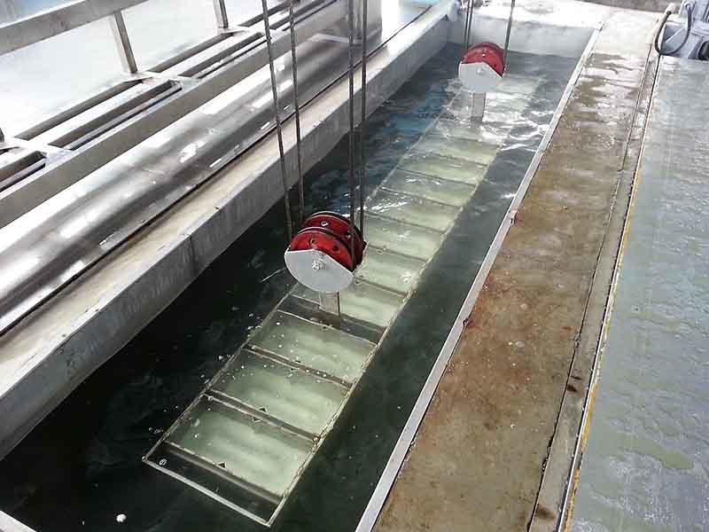 Завод по производству блокового льда 60 тонн в день, Малайзия