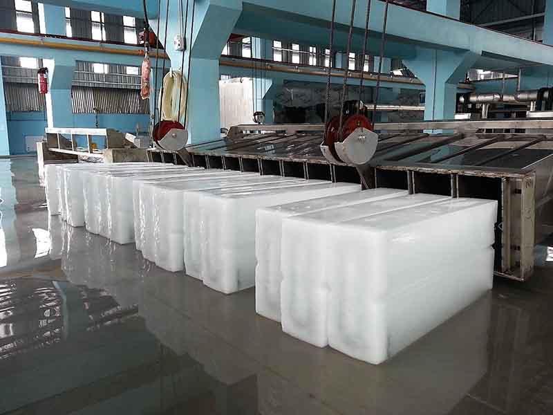 60 toneladas por dia de planta de máquina de gelo em bloco, Malásia