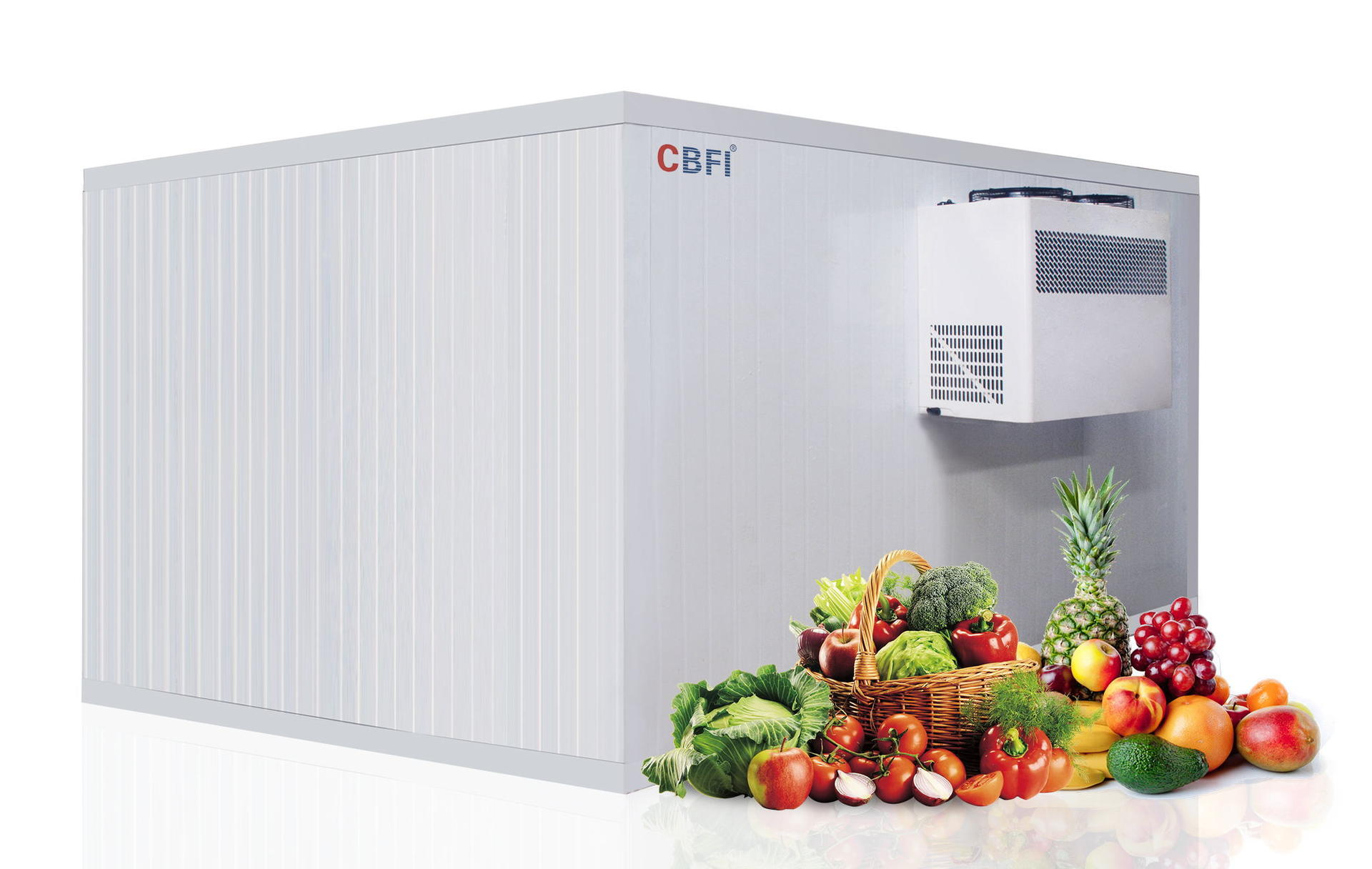 CBFI CYL Series Intelligent Cold Room Units With Compact Design