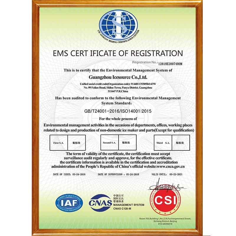 ISO14001 Environment Management System