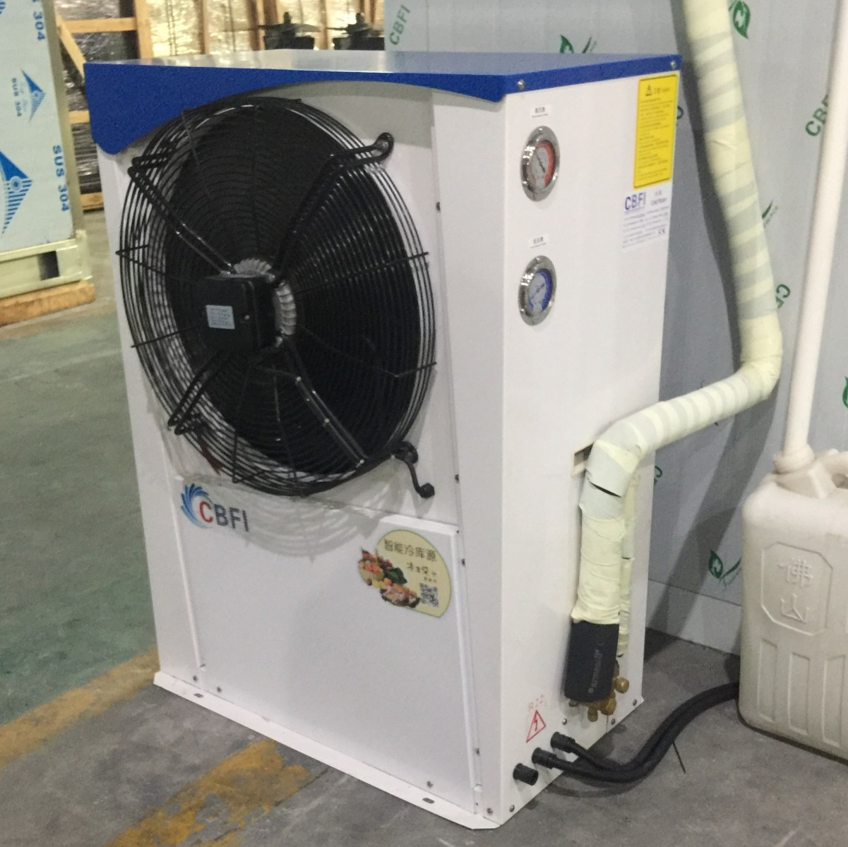 CBFI cold 10 ton ice machine plant for cold drink-5