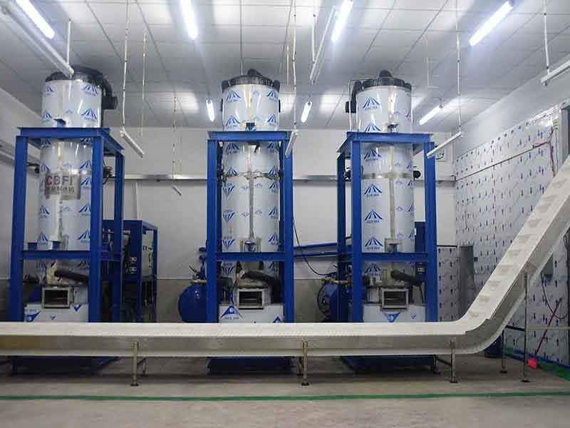 50 Tons 24 Hours Tube Ice Machine and Cube Ice Machine Full-Automatic Plant