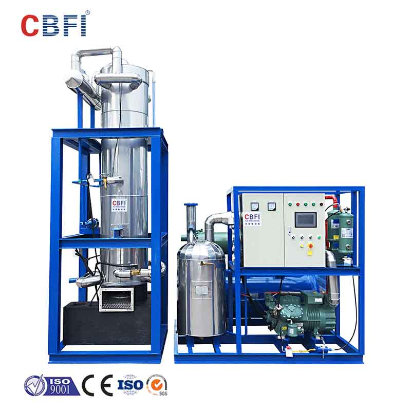 CBFI-Best Tube Ice Maker For Sale Cbfi Tv10 1 Ton Per Day Tube Ice Making Machine-11