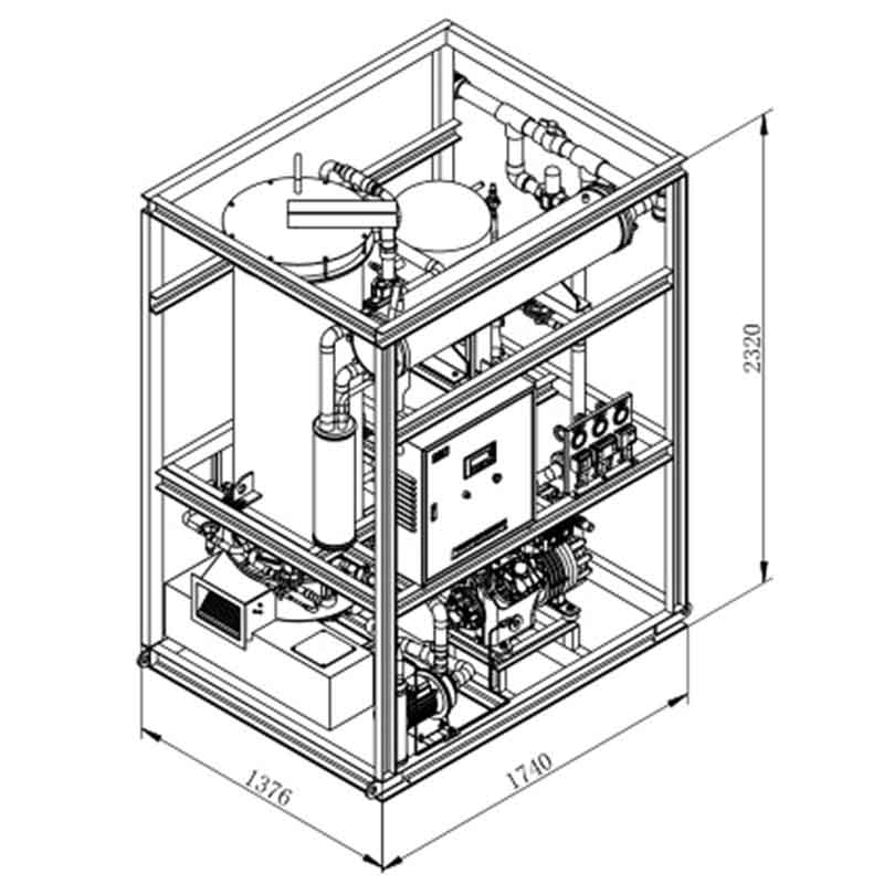 CBFI-Find Vogt Tube Ice Machine Cbfi Tv50 5 Tons Per Day-1