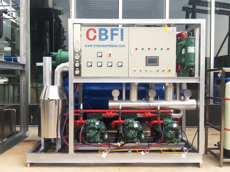 CBFI-Tube Ice Maker For Sale | Cbfi Tv100 10 Tons Per Day Tube Ice Machine For-6