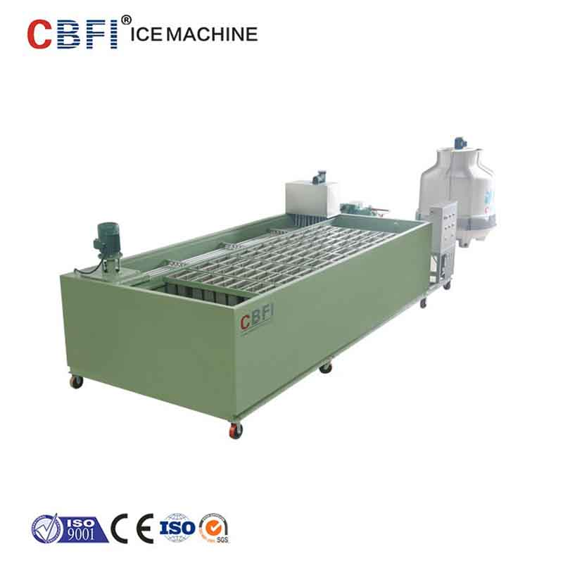 CBFI coil block ice machine bulk production for block ice machine-13