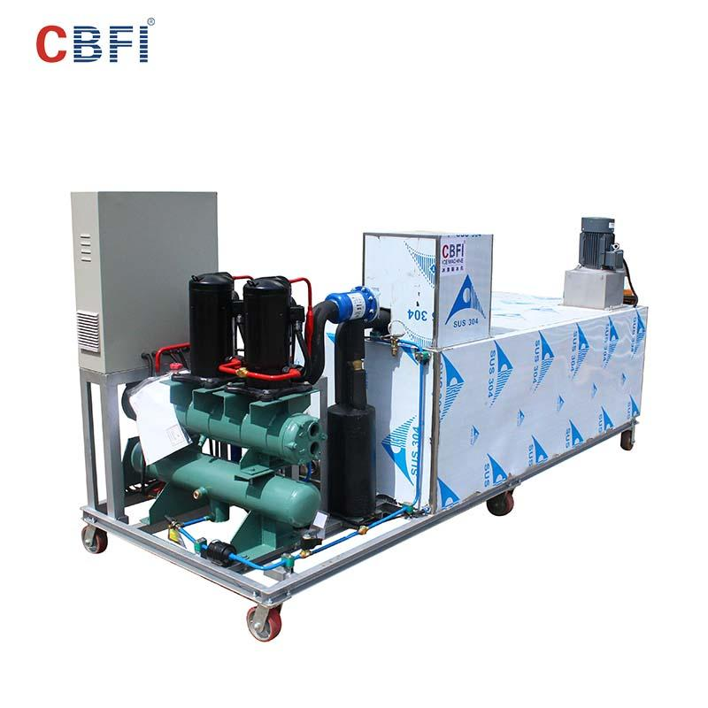 CBFI tons ice block making machine long-term-use for vegetable preservation