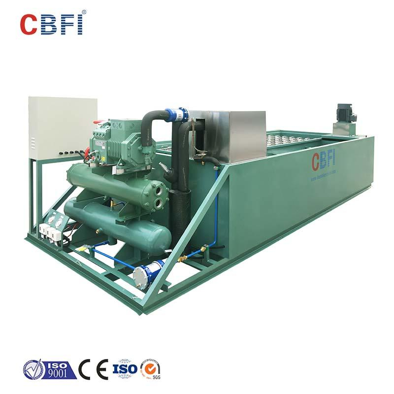 CBFI Brand coil day aquatic plc big block ice machine