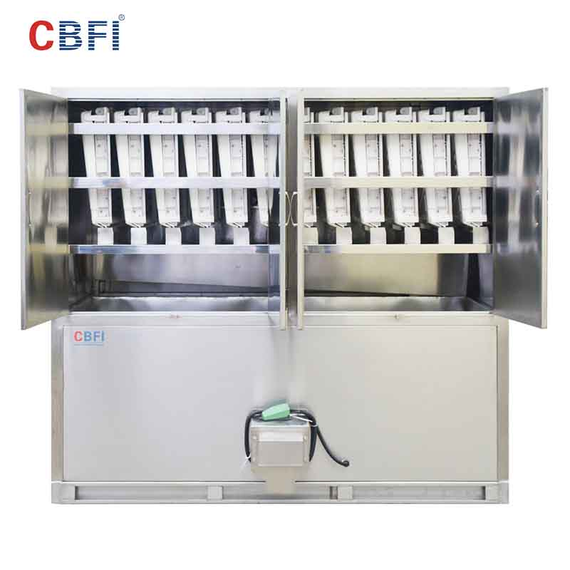 CBFI-Large Cube Ice Maker | Cbfi Cv10000 10 Tons Per Day Cube Ice Maker With-9