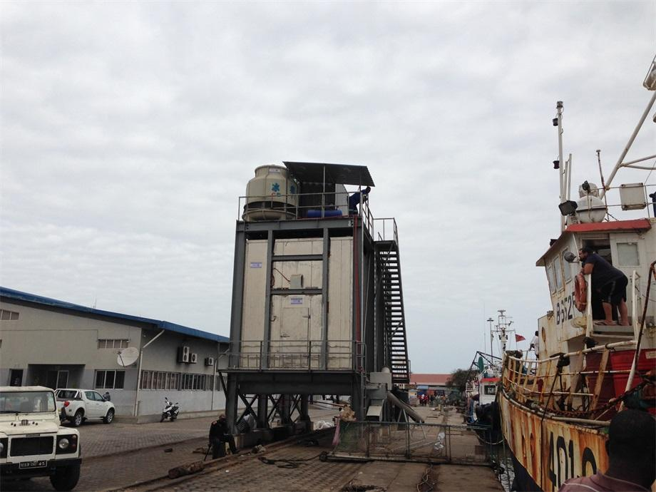 40 Tons Per Day Automatic Flake Ice System, Mozambique